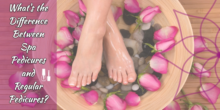 What is the Difference Between Spa Pedicures and Regular Pedicures?